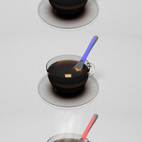 HALO Heating Spoon by Burcu Bag, Amalia Monica, & Vinay Raj Somashekar » Yanko Design