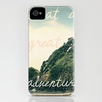 what a great adventure iPhone Case by Leah Flores | Society6