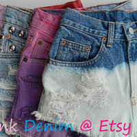 MADE TO ORDER Design Your Own Customized Denim Shorts