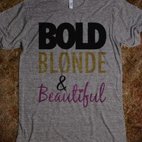 Bold Blonde & Beautiful (athletic) - Girly