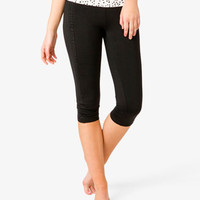 Ditsy Triangle Workout Capris | FOREVER 21 - 2036517264