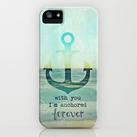 ANCHOR iPhone Case by M✿nika  Strigel	 | Society6