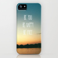 Be happy iPhone Case by AA Morgenstern | Society6
