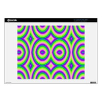 &quot;Bright Enough For You?&quot; Abstract Pattern Skins For Laptops from Zazzle.com