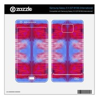 Brightly Colored Mosaic Abstract Samsung Galaxy S II Skins from Zazzle.com