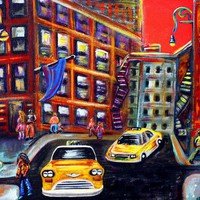 SoHo Art Prints by Laura Barbosa - Shop Canvas and Framed Wall Art Prints at Imagekind.com