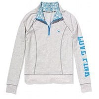 Yoga Half-Zip - PINK - Victoria's Secret