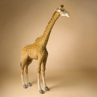 Hansa Ride-On Giraffe Stuffed Animal > pucciManuli