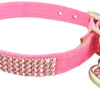 Crystal Pet Collars- Rhinestone Dog Collar, Designer Collars, Fancy Puppy Collar, Bling, Swarovski