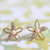 Starlight Flower Earrings