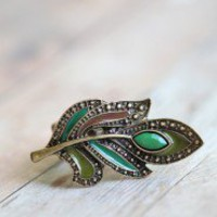 Mystic Leaf Ring