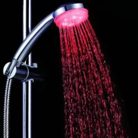 Amazon.com: Showerhead with Built-in LEDs for 7 Color Modes Based on Water Temperature: Home Improvement