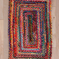 Urban Outfitters - Rectangle Braid Rug