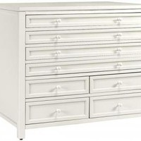 Martha Stewart Living Craft Space Eight-Drawer Flat-File Cabinet - Craft Tables -  Martha Stewart Living&amp;#153; Craft Furniture -  Martha Stewart Living&amp;#153; | HomeDecorators.com