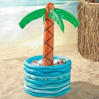 Inflatable Palm Tree Beer/Soda Cooler