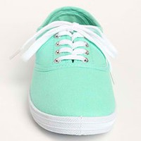 Canvas Lace Up Sneakers