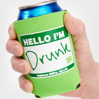 Hello I'm Drunk Can Cooler | Novelty Bar Accessories | fredflare.com
