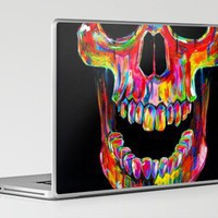 Chromatic Skull Laptop & iPad Skin by John Filipe | Society6