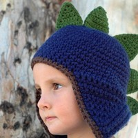 Dinosaur  Hat Newborn and 03M by beliz82 on Etsy