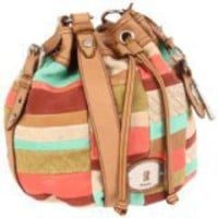 Fossil Women&#x27;s Maddox Patchwork Drawstring ZB4864 Hobo - designer shoes, handbags, jewelry, watches, and fashion accessories | endless.com