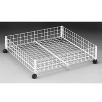Rolling Underbed Cart - College dorm room accessory dorm room needs college things living in a dorm room stuff for your dorm dorm stuff