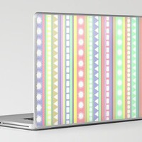 Pastel Pattern Laptop & iPad Skin by Romi Vega | Society6