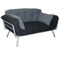 Mali Flex Futon - Coal/ Gray