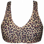 Wild Leopard / Cheetah print Athletic Spandex Sports Bras