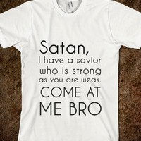 satan, i have a savior come at me bro - Get in my Closet