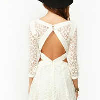Earth Angel Lace Dress