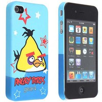 Birds Hard Back Case& Crystal Screen Protector& Cleaning Cloth for iPhone 4G- Yellow Bird $4.13 - Free Shipping, iPhone Cases & Armbands