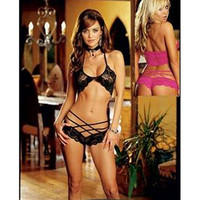 Sexy Black Lace Bra and Panty Set [TML0052] - &amp;#36;15.00 : Zentai, Sexy Lingerie, Zentai Suit, Chemise