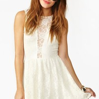 Lulu Dress - Ivory Lace