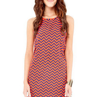 Up or Down Dress in Red :: tobi