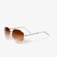 F0326 Aviator Sunglasses | FOREVER 21 - 1027500096