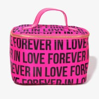 Forever In Love Cosmetic Bag | FOREVER 21 - 1015036946