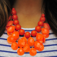 Drops Of Jupiter Necklace: Bright Orange | Hope's