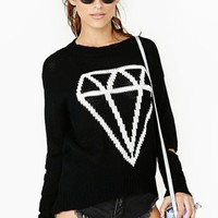 Black Diamond Knit