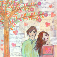 Art Print - Love Tree