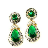 Jacqueline Kennedy's Emerald Drop Earrings at the John F. Kennedy Presidential Library and Museum's Online Store