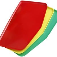 Argee RG909 Chop Keeper Flexible Chopping Tray, Red, Green and Yellow, 3-Pack