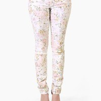 Secret Garden Floral Skinnies by Celebrity Pink @ FrockCandy.com