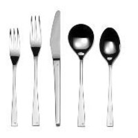 Embassy Stainless Steel 5 piece Place Setting