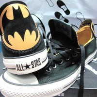 New Converse DC Comics Batman Chuck Taylor Black Low