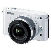 Nikon 1 J2 10.1MP Digital Camera with 10-30mm Lens Kit - White