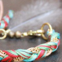 Multi Charm - Seaweed Friendship Bracelet | UsTrendy