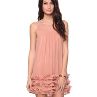 Ruffled Hem Dress | FOREVER21 - 2015036233