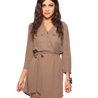 Belted Shirtdress | FOREVER21 - 2000022286
