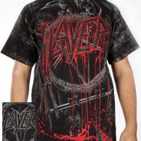 ROCKWORLDEAST - Slayer, T-Shirt, Giant Eagle, All Over Print