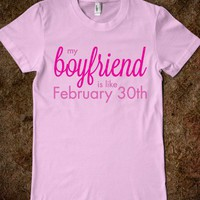 My Boyfriend is like Feb 30th (Junior) - happy hearts